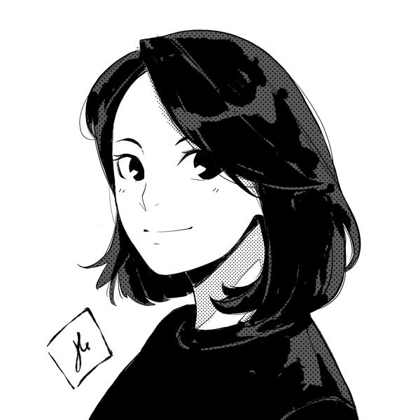 Manga Style Portrait Illustration
