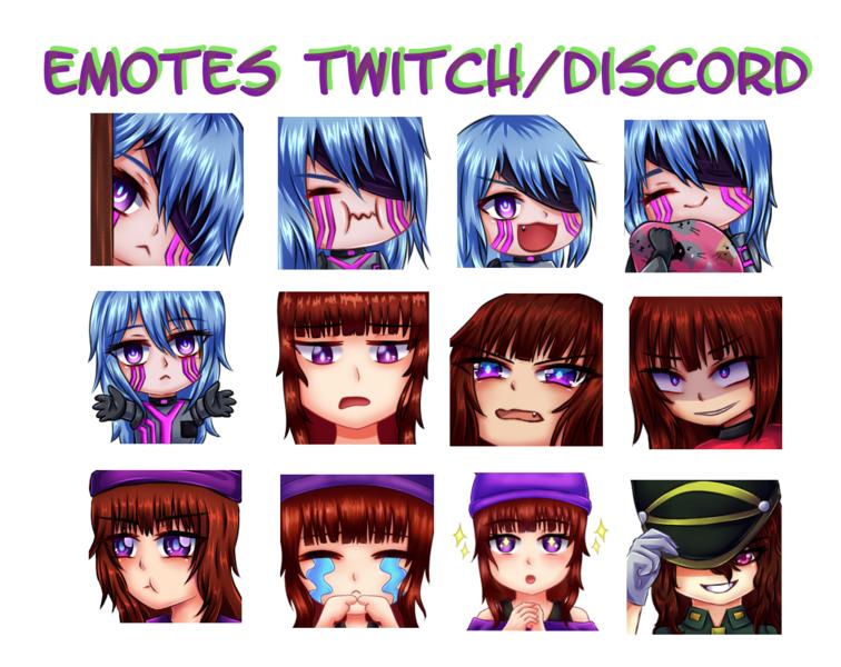 Emotes Twitch/Discord