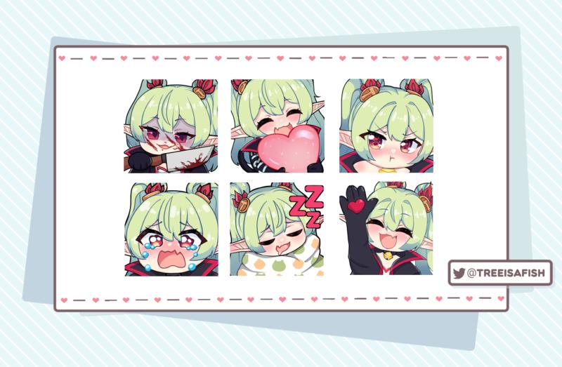 Twitch/Discord Emotes