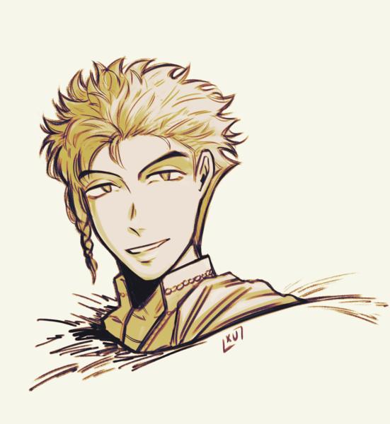 Cartoon/Anime Character Sketch Art