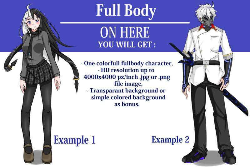 full body character No Equipment