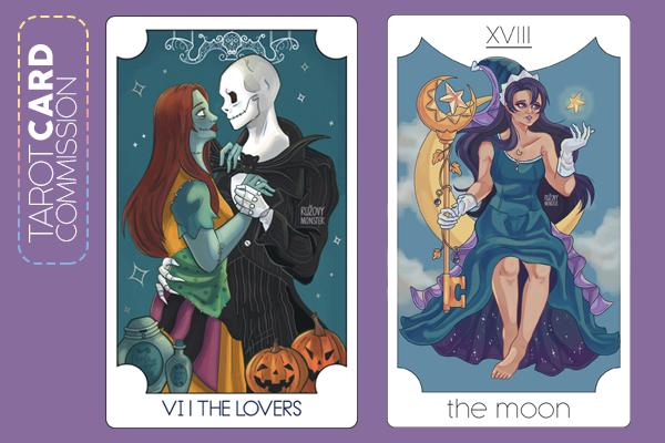 Tarot Card commission