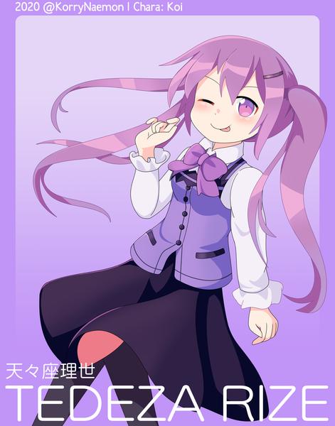 Moe Anime Girl Halfbody Fullcolor - DC