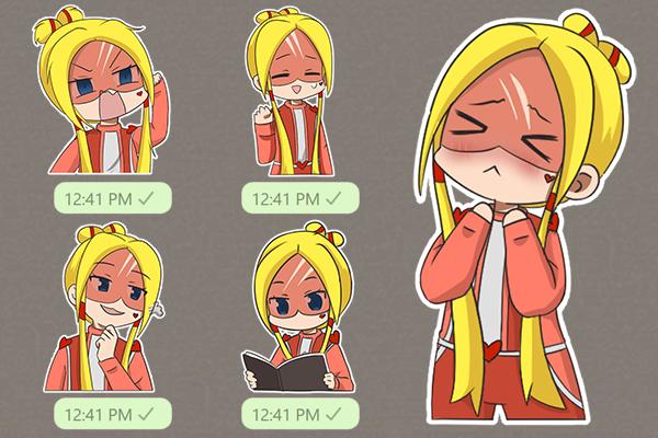 Chibi sticker/emote pack