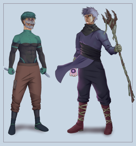 Full Body Render Character Design