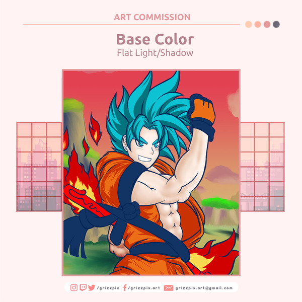 Base Color + Lights & Shadows