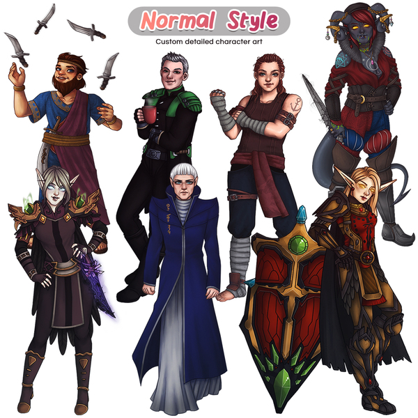 Colored Full-body: Normal