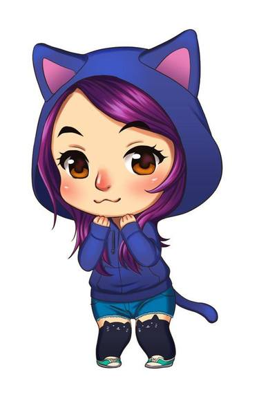 I will draw your portrait with my chibi style