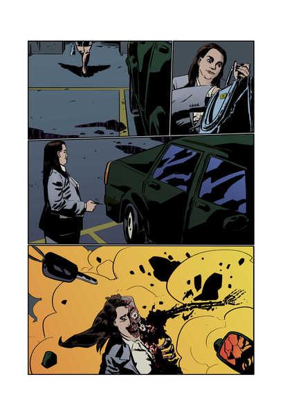 [COLOR] Professional comic book page!