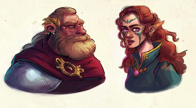 QUICK Character Portrait