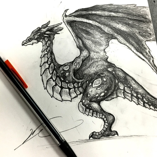 Pencil Monster or Creature of any type.