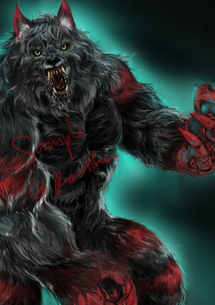furry anthro - semi relistic