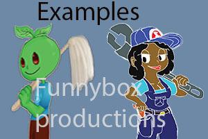 Simple Character Logo Design