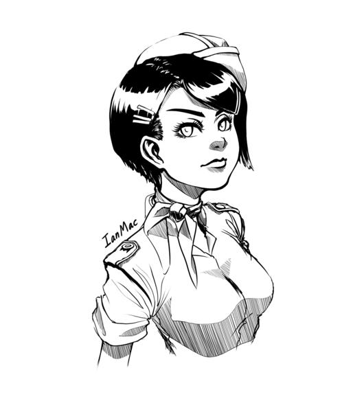 Manga style Lineart -Portrait/Bust-