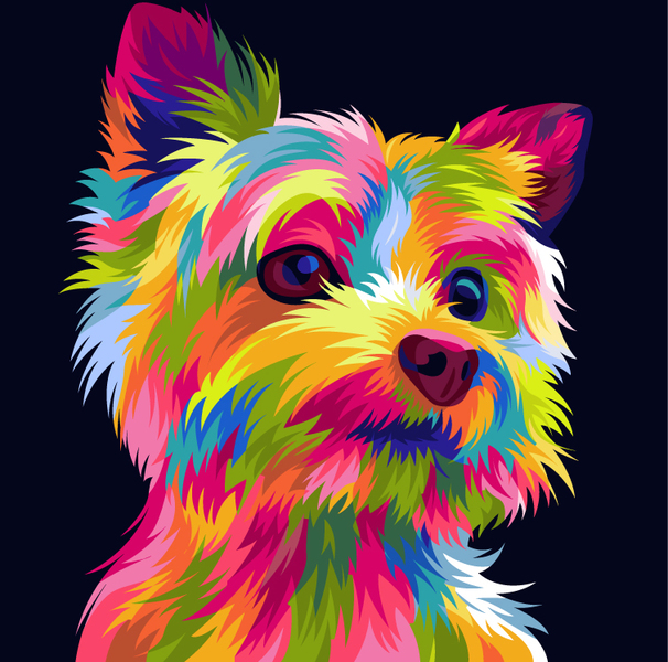 Draw your pets into vector art