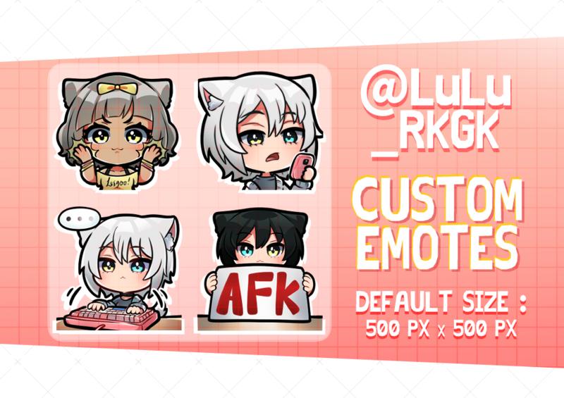 Sticker/Emotes for line etc