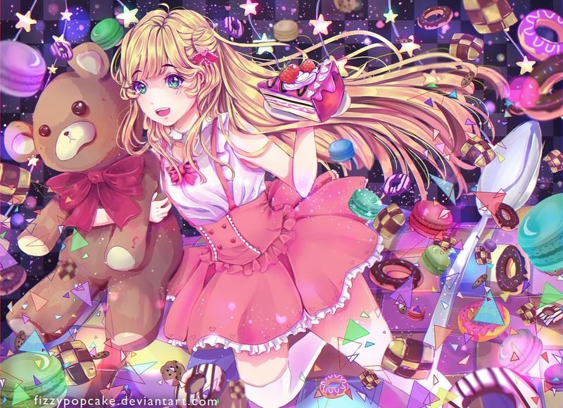 Detailed Anime Full Body Illustration