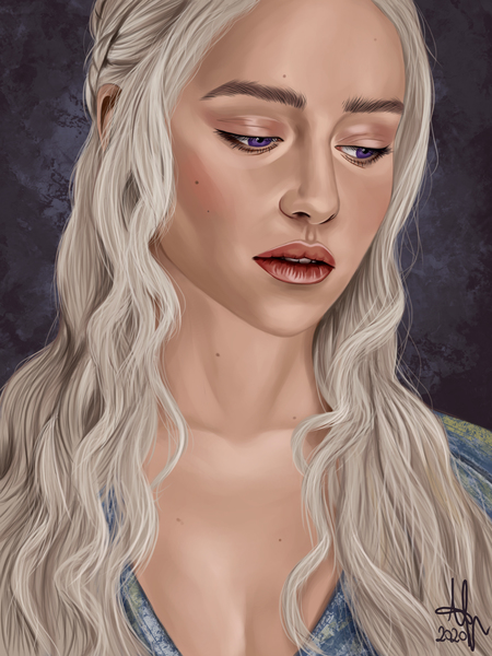 Digital Realistic Character Portrait
