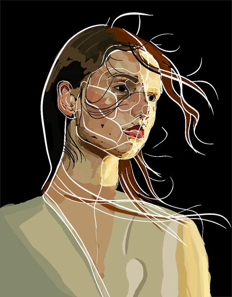Sketchy Artistic Portrait