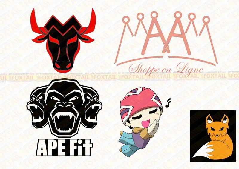 logo, logos, characters, things, animals