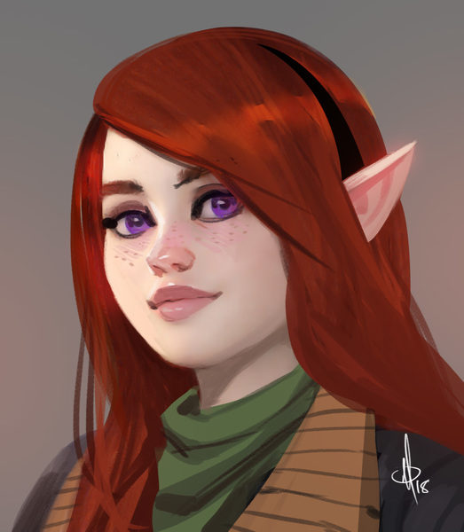 Digital Portrait (nsfw ok)