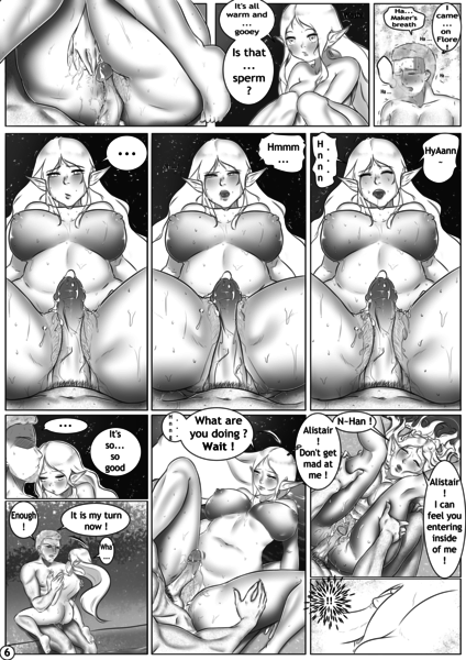B&W Comic (Manga, Webtoon, 4Koma)