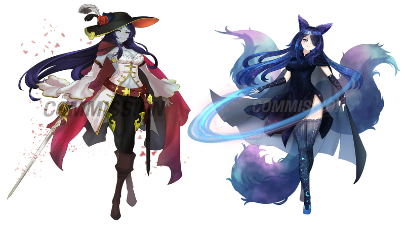 Fullbody Character Illustration