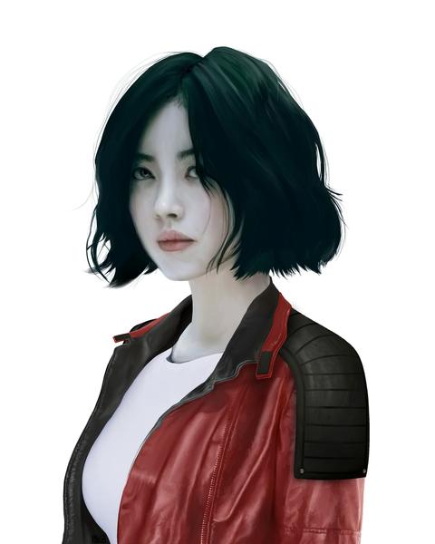 Realistic Colored Portrait