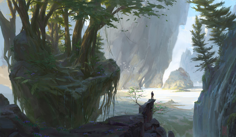 Fully Detailed Environment Painting