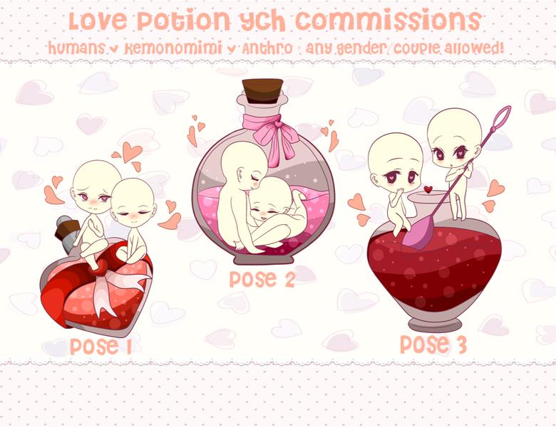 Love Potion YCHs