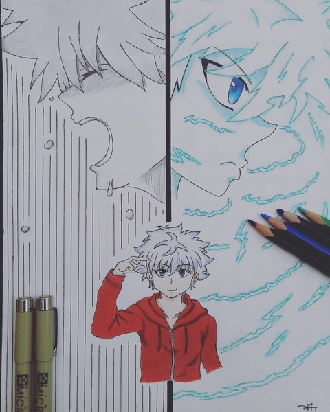 I draw any anime character you want