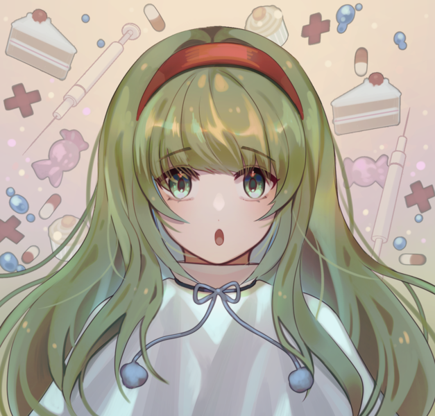 Detailed Bust Anime Style