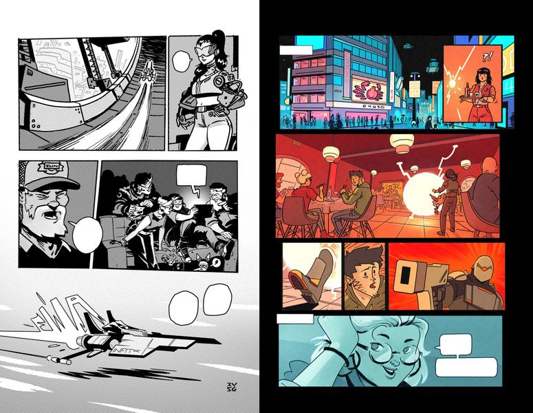 Comic & Manga pages